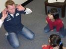オーストラリアの英語学校で学ぶ子供