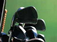 オーストラリアでゴルフのプロに